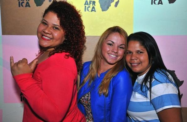 Rayssa Castro, Elimara Alves e Andreia da Conceio - Luis Xavier de Frana/Esp.CB/D.A