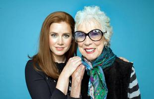 Amy Adams e Margaret Keane, foto de Sam Comen para o The New York Times