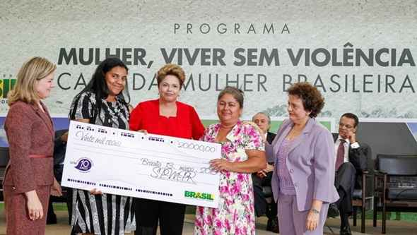Lanamento do Programa Mulher, Viver sem Violncia