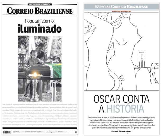 Jornal concorre na categoria International Newspaper of The Year (Reprodu��o)