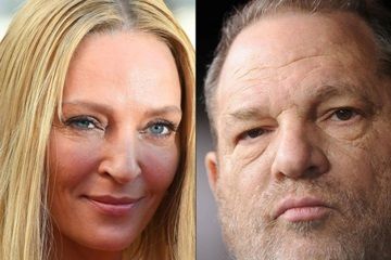 Uma Thurman acusa Harvey Weinstein de assédio  (ANNE-CHRISTINE POUJOULAT , ROBYN BECK)